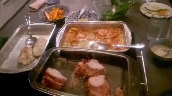 Dinner - yum!