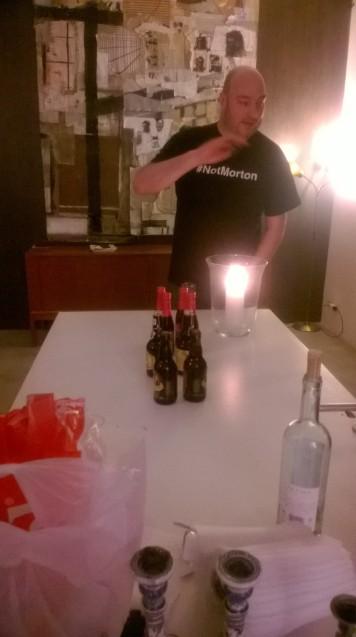Steve#notMorton educating us on Belgian beer